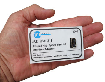 JRE USB2-1 handsized USB2.0 Filtered Interface Adapter