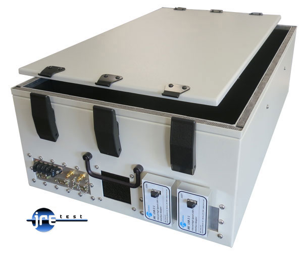 JRE1729 rear view Shielded Test Enclosure