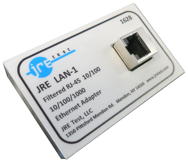 JRE LAN-1  RJ-45 Ethernet 10/100/1000 Filtered Interface