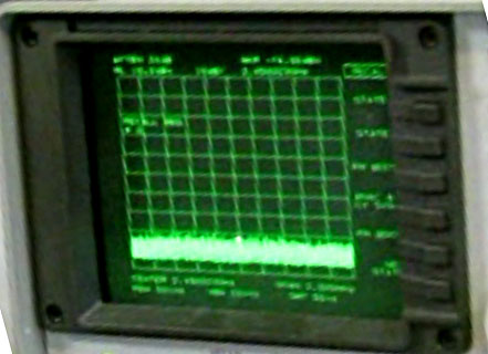 JRE HPSS-1 and Spectrum Analyzer Noise Floor Demonstration Image